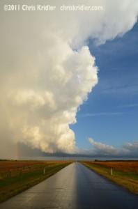Storm on May 20, 2011, at Cairo, Kansas