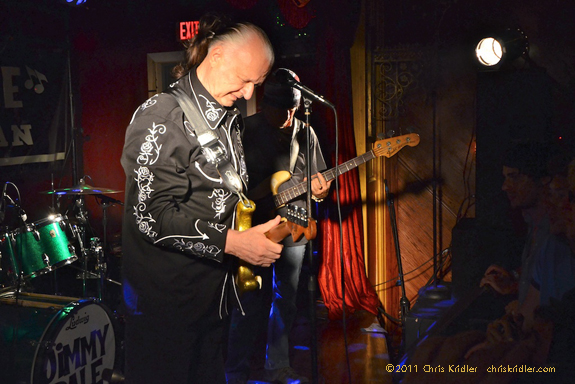 Dick Dale performs