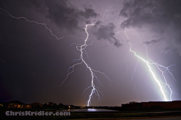 LIghtning strike August 1, 2011