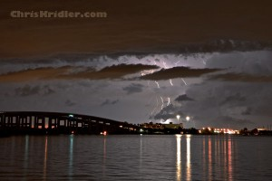 Lightning and the bridge
