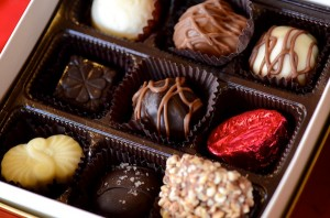 Chocolates from Caffe Chocolat