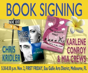 Book signing Nov. 2