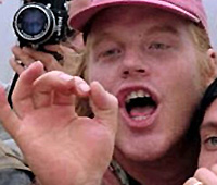 "Philip Seymour Hoffman as Dusty in ""Twister."""