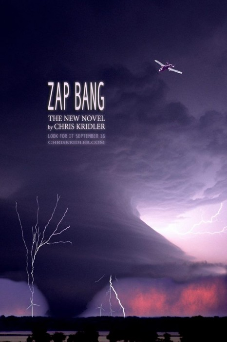 "This illustration appears on the back cover of ""Zap Bang."""