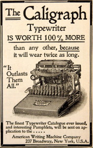 "If ""it outlasts them all,"" you might want it for NaNoWriMo. (Public domain image via Wikimedia Commons)"