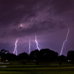 Lightning over Rockledge Country Club. Photo by Chris Kridler, ChrisKridler.com, SkyDiary.com