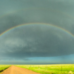 20 May 2021: Hailstorms and rainbows in northern Colorado
