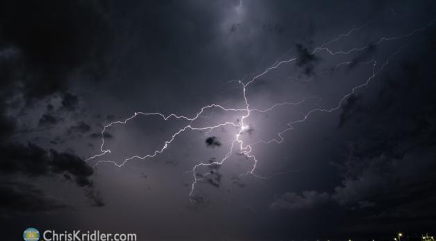 Lightning in Viera, Florida