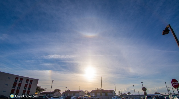 10 February 2021: Sun halos in central Florida