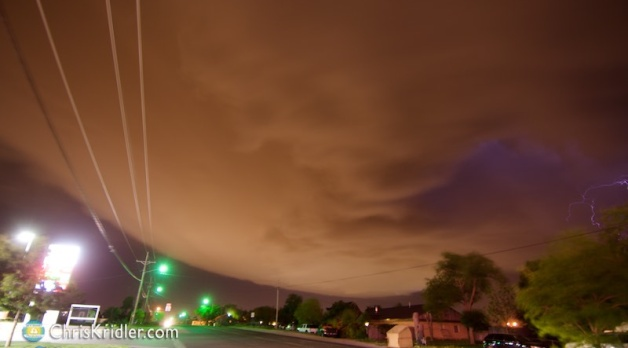 11 May 2016: Texas Panhandle severe storms and lightning