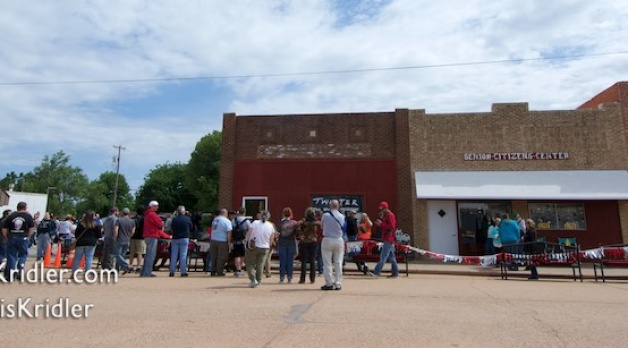 14 May 2016: Oklahoma scenery and 'Twister' event in Wakita