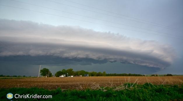 15 May 2015: Southwest Nebraska storms and lightning