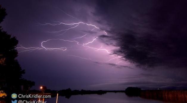 Summer 2015: Florida storms and random bolts