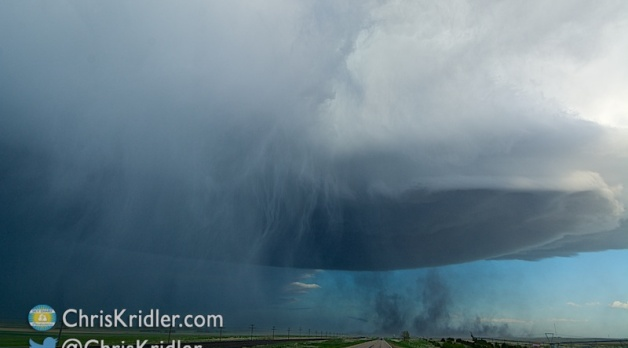 19 May 2014: Severe Nebraska mothership supercell