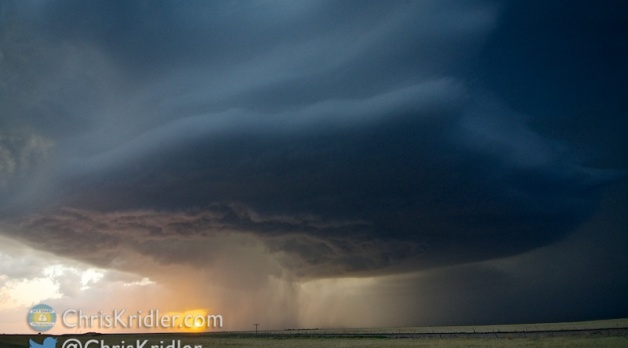 20 May 2014: Spinning storm in Colorado