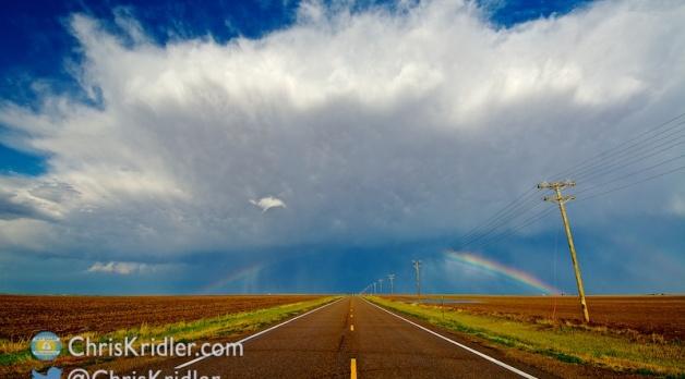 1 June 2014: Severe storms in northwest Kansas