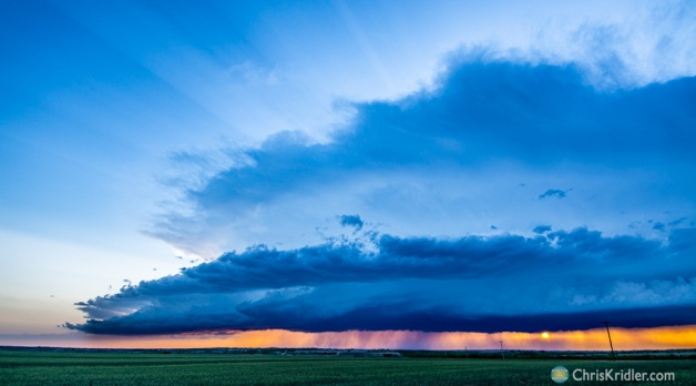 18 May 2021: Tornadic supercell in southwest Texas