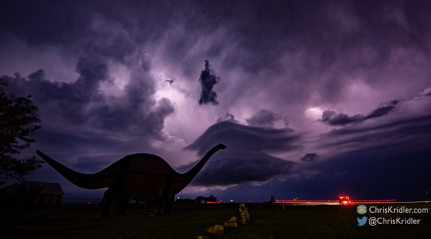 29 May 2021: Colorado tornado and Jurassic lightning in Oklahoma