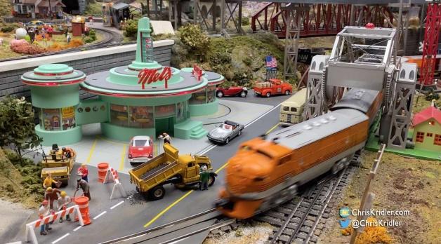 Visiting a wonderful tiny world of model trains